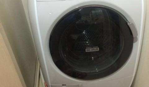 ドラム式洗濯機届きました。すごく負担が減った!&洗う時の留意点。