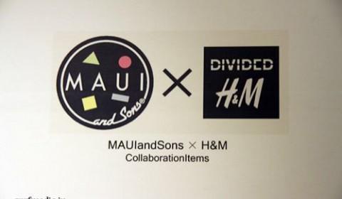 マウイアンドサンズとH&Mがコラボするよ!