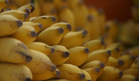 赤ちゃんのオヤツにバナナは楽でいいですね。ただしアレルギーがあるので注意。