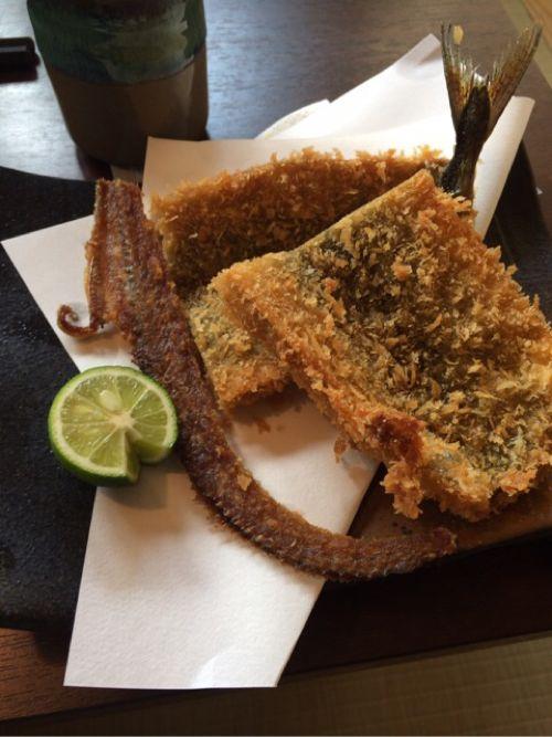 秋刀魚フライ