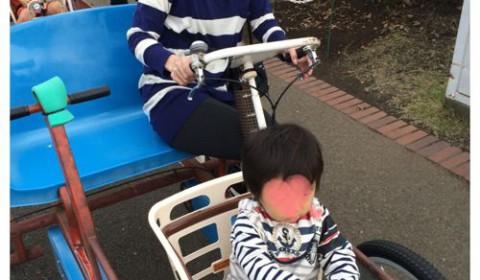 辻堂海浜公園にお出かけ。一歳半でも楽しめた広い芝生と、交通系のアトラクション。