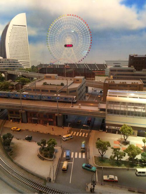 横浜ジオラマ