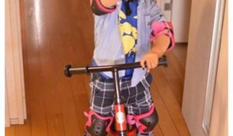 3歳の息子にストライダーを購入。練習、保管グッズなどの話。